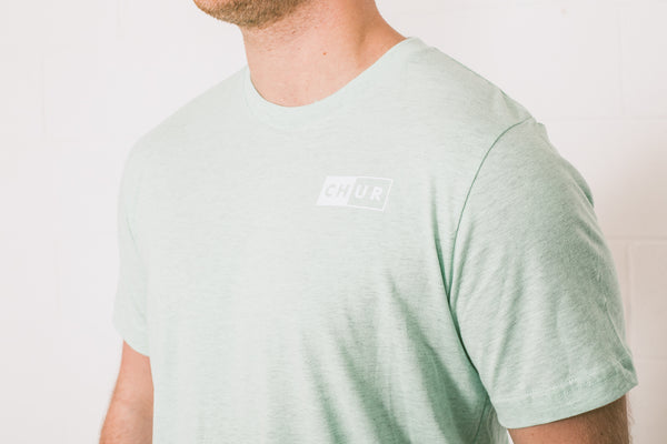 Chur Graham T-Shirt - Mint Green