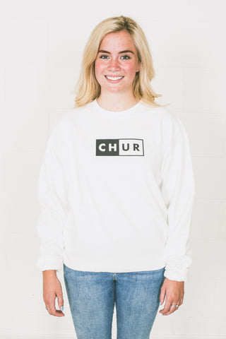 Chur Graham Jumper - Artic White