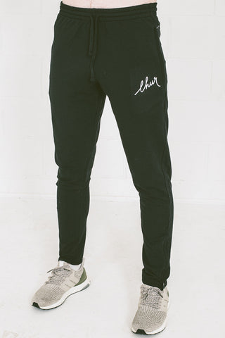 Chur Florey Tapered Sweatpants - Black