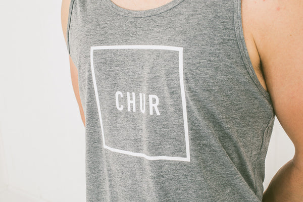 Chur Pautasso Singlet – Heather Grey