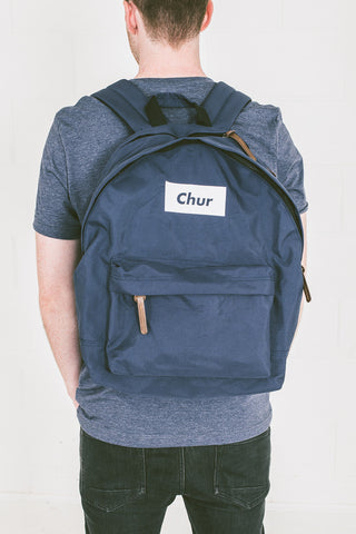 Chur Cheepy Laptop Bag - Midnight Navy