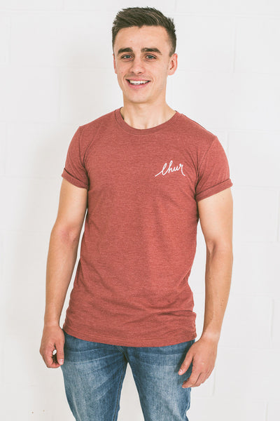 Chur Florey T-Shirt - Heather Clay