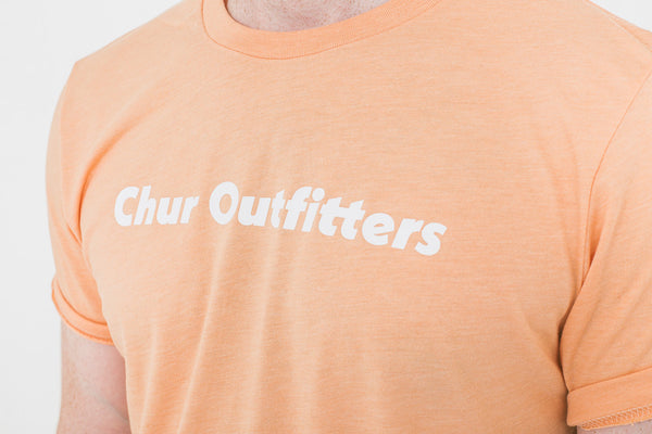 Chur Salm T-Shirt - Heather Peach