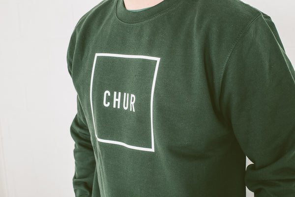Chur Pautasso Baseball Jumper - Forest Green