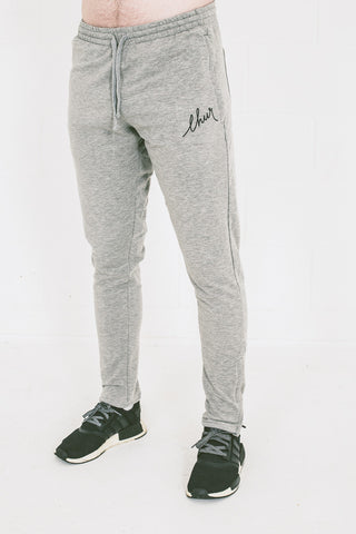 Chur Florey Tapered Sweatpants - Heather Grey