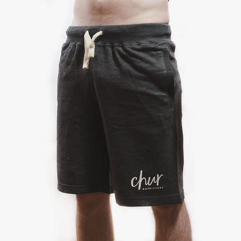 Chur Original Sweat Short – Charcoal