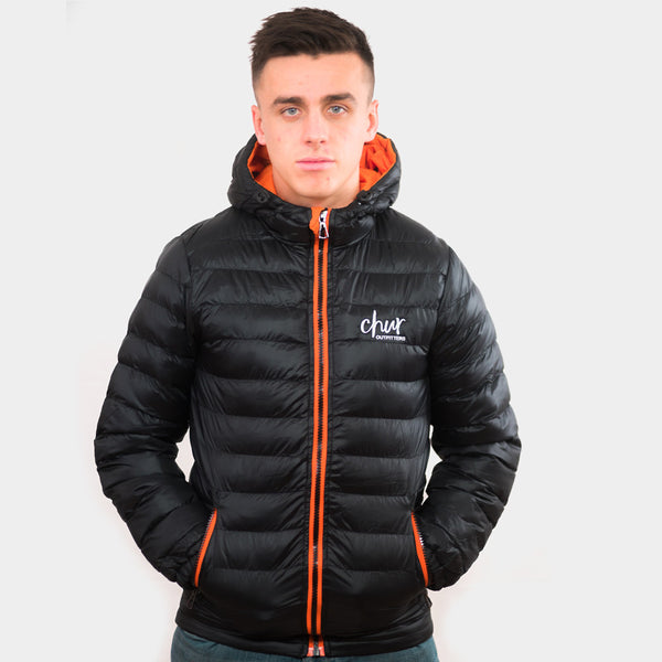 Chur Original II Jacket – Black / Orange