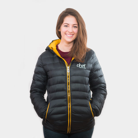 Womens Chur Original II  Jacket – Black/Yellow