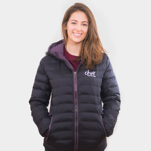 Womens Chur Original II  Jacket – Aubergine
