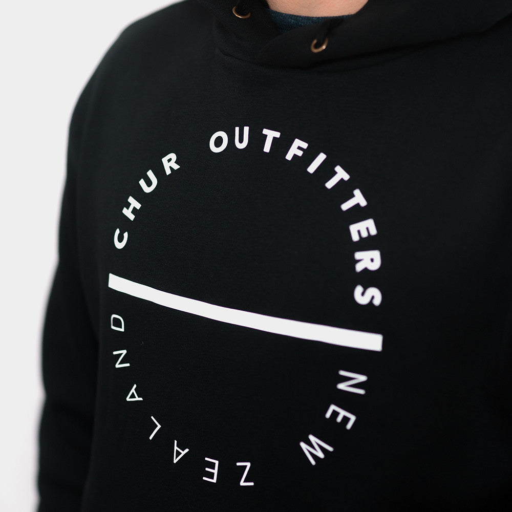 New Zealand Hoodie - Black