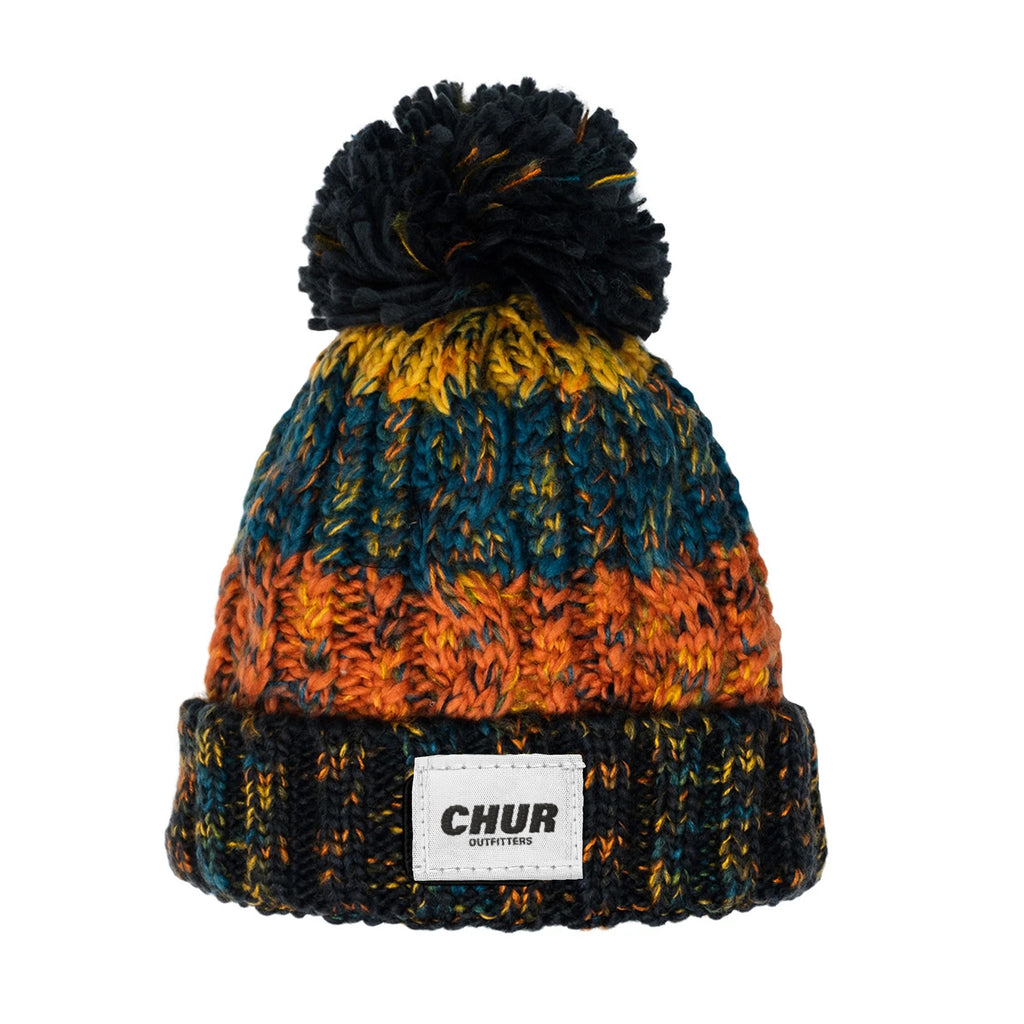 Chur Chapter Pom Pom Beanie - Autumns Day
