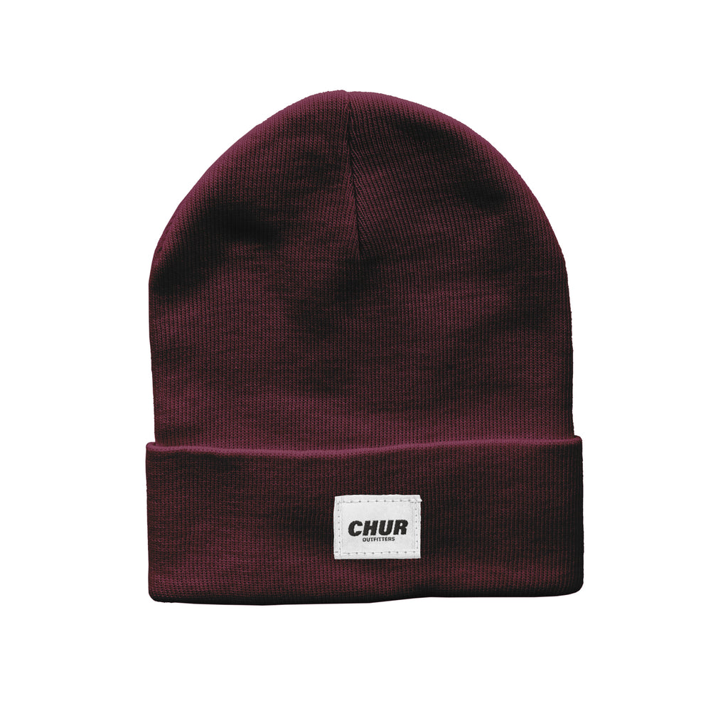 Chur Chapter Beanie - Burgundy