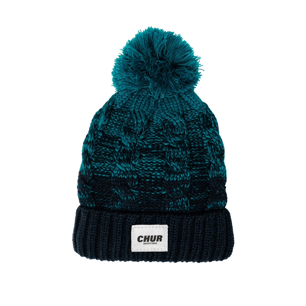 Chur Chapter Pom Pom Beanie - Fayde Green