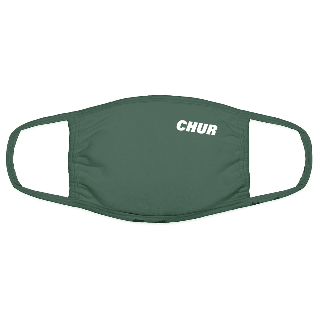 Chur Chapter Mask - Bottle Green