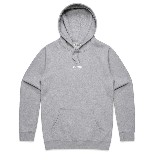 Chur Chapter Hoodie - Grey / White