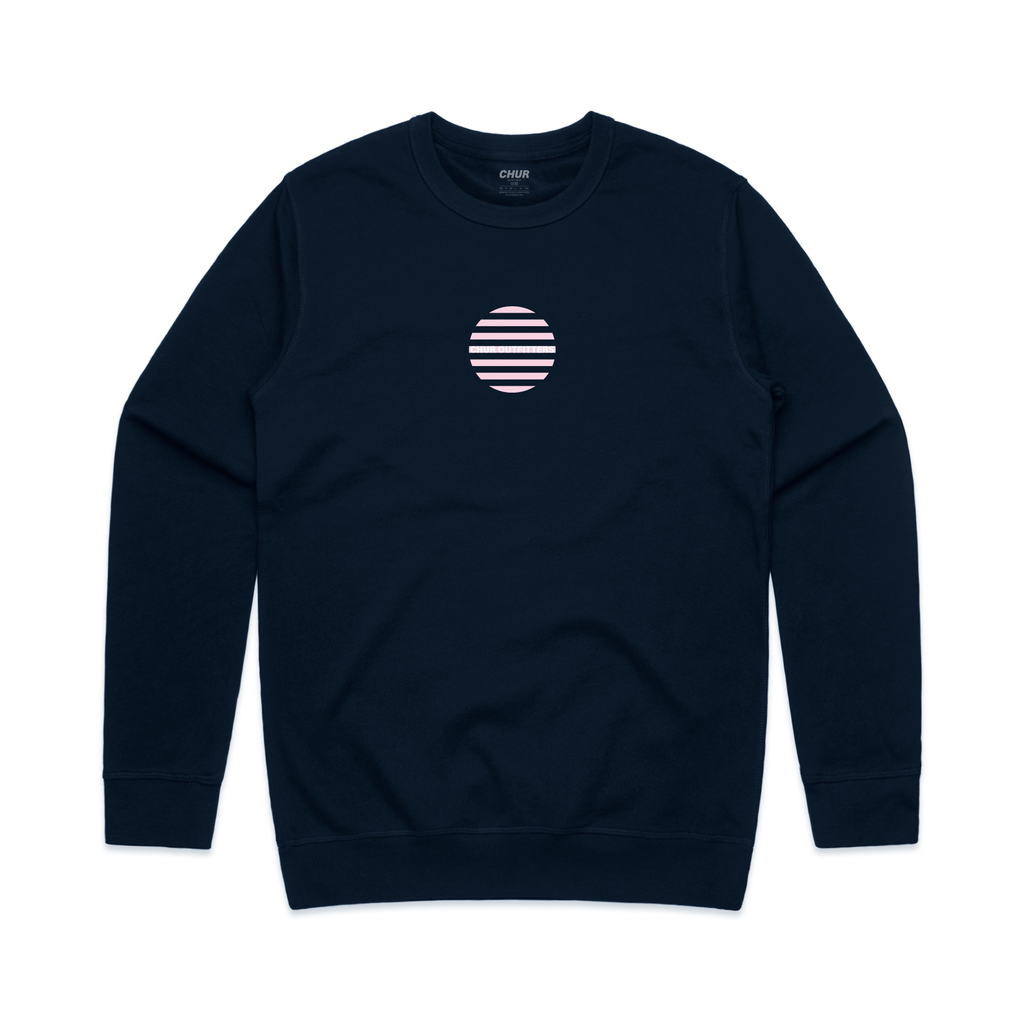 Chur Stronge Sweatshirt - Navy