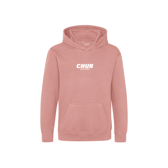 Chur Kids Chapter Hoodie - Dusty Pink