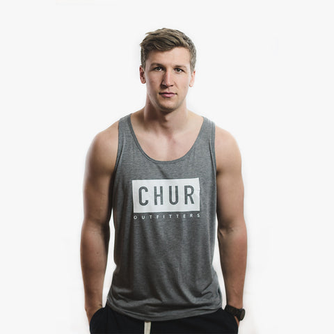Chur Strahorn Singlet – Heather Grey