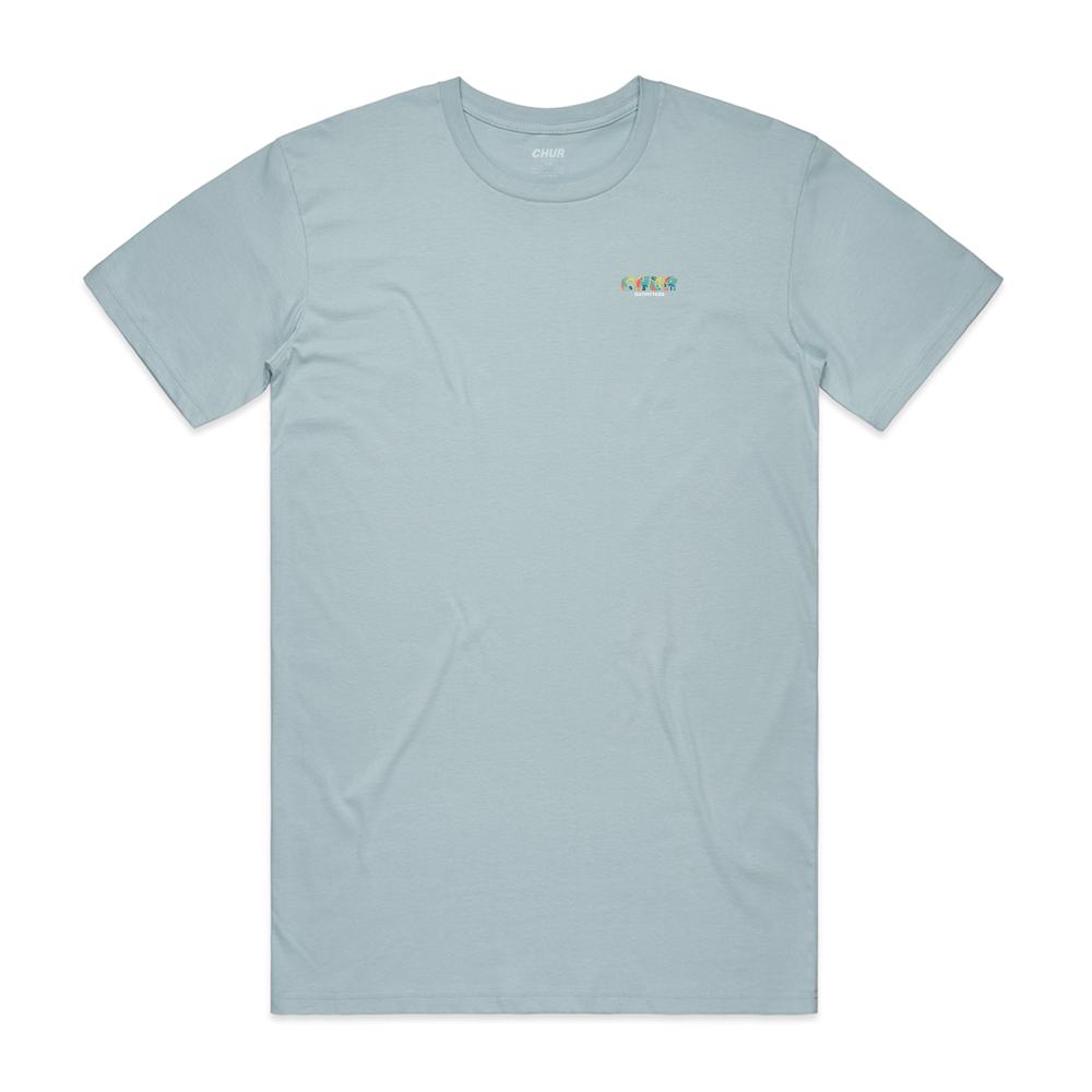 Chur Lamont T-Shirt - Dusty Blue