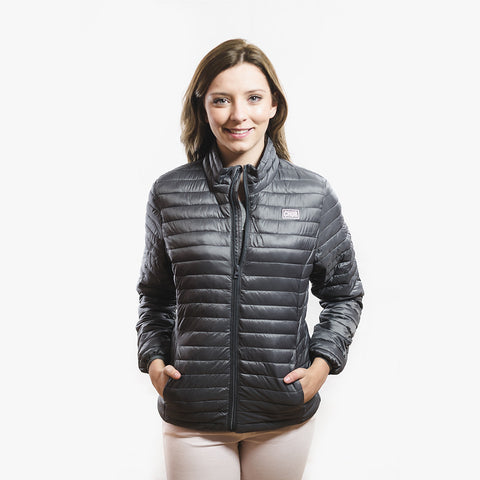 Womens Chur Ainsley Fineline Jacket - Steel Grey