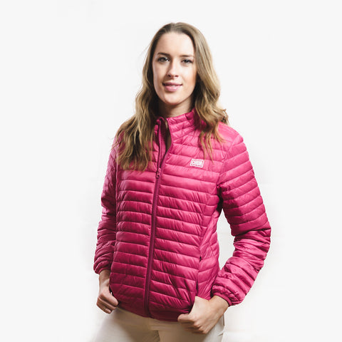 Womens Chur Ainsley Fineline Jacket - Pink