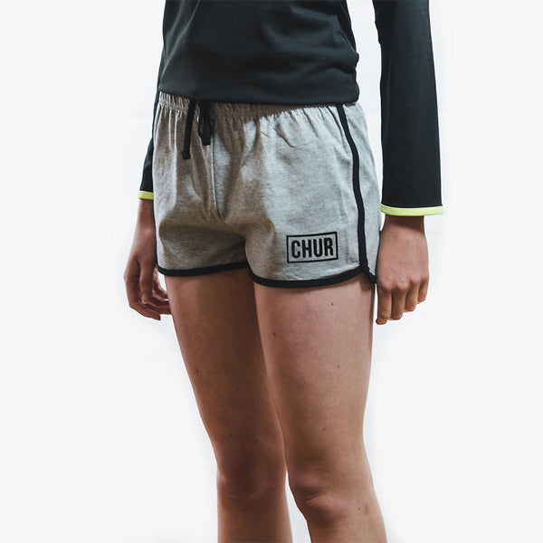 Chur Ainsley Shorts - Charcoal Grey