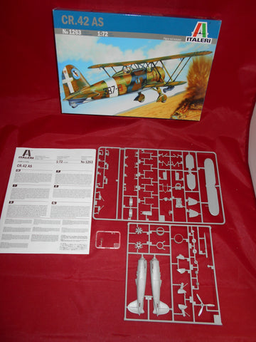 Italeri 1/72 scale model kit CR.42 AS - 1263 - Slight Shelf Wear