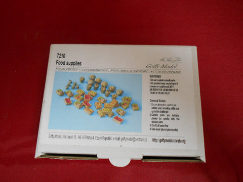 Goffy Model Resin 1/72 Food supplies - 7210