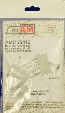 Advanced Modeling 1/72 Universal armament transport cart - AMC72112