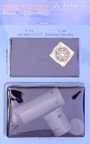 Aires 1/48 resin IAI Kfir C2/C7 exhaust nozzle - 4734 for AMK kits
