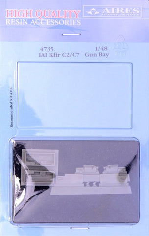 Aires 1/48 resin IAI Kfir C2/C7 gun bay - 4735 for AMK kits