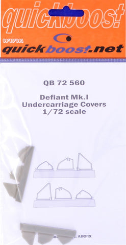 Quickboost 1/72 Defiant Mk.I undercarriage covers for Airfix - QBT-72560