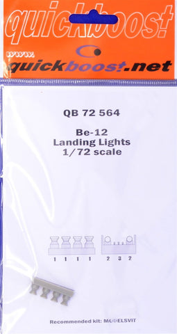 Quickboost 1/72 resin Be-12 landing lights for Modelsvit - QBT-72564