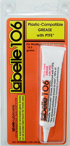 Labelle Lubricants #106 Plastic-Compatible Grease with PTFE - 16.5 Grams