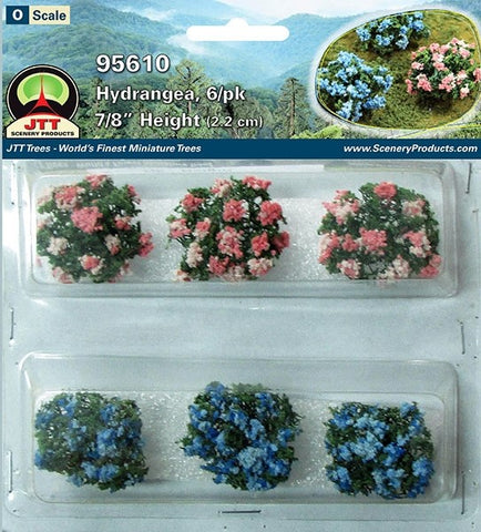 "JTT Scenery Products - O Scale - 95610 Hydrangea 7/8"" (6pack)"