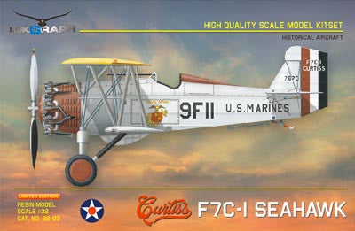Lukgraph 1/32 Curtiss F7C-1 Seahawk Resin Kit (Multi Media kit) - 32-03