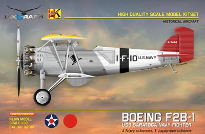Lukgraph 1/32 Boeing F2B-1 USN & Japanese paint schemes - Resin Kit - LUK32-05