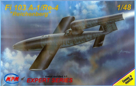 MPM 1/48 Fi 103 A-1/Re-4 Reichenberg - Expert Series #48049 aircraft kit