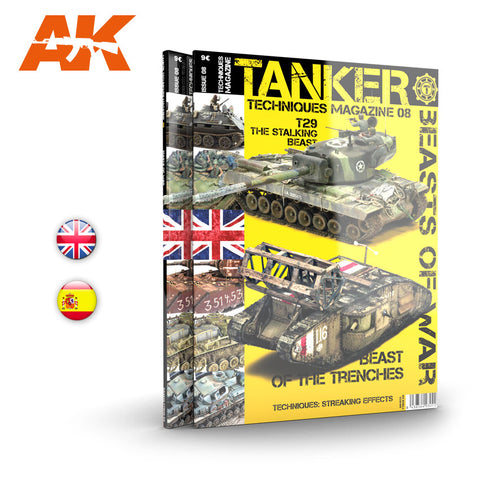 AK Interactive TANKER TECHNIQUES Magazine/Issue 08 - AK4832 BEASTS OF WAR