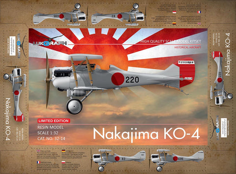 Lukgraph 1/32 Nakajima Ko-4 Resin Multi Media kit - 32-14