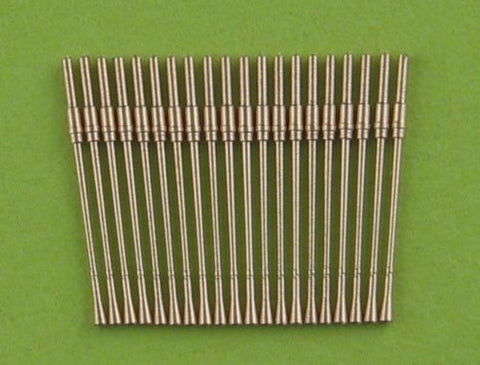 Master Model 1/350 scale German 37mm/69 M42 barrels x20pcs - SM350-046