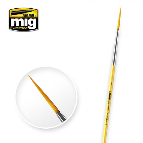 Ammo Mig Jimenez O1 Synthetic Liner Brush - AMIG8591