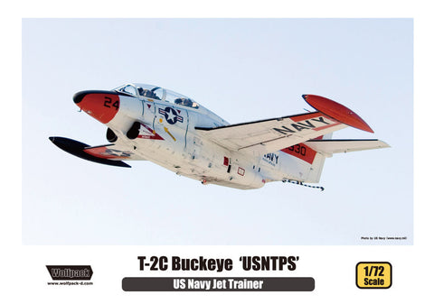Wolpack 1/72 kit T-2C Buckeye US Naval Test Pilot School - WP10006