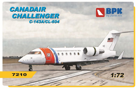 Big Planes Kits 1/72 Challenger C-143A/CL 604 - BPK7210 Canadair Challenger kit