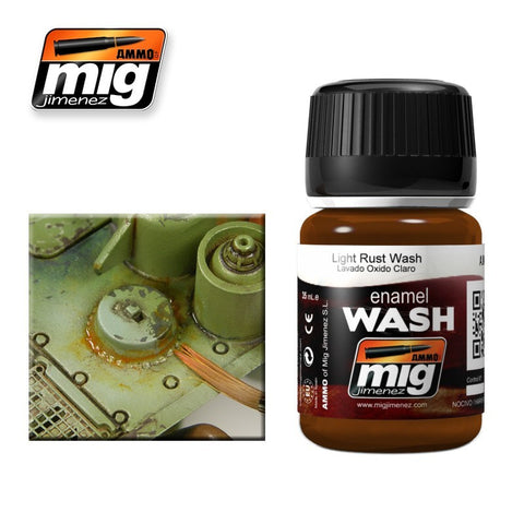 Light Rust Wash - 35ml jar - A.MIG-1004 Ammo Mig Jimenez