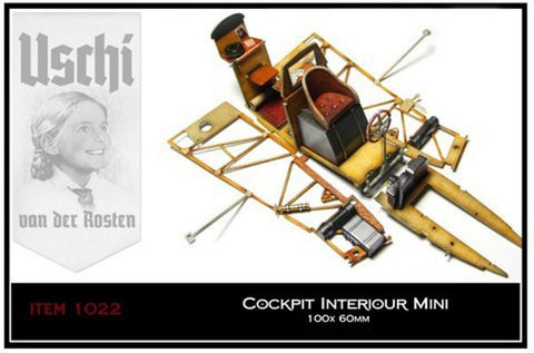 Uschi 1/32 1/48 scale mini interior wood grain decal - #1022 - Wingnut Wings