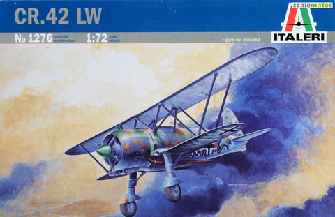 Italeri Model kit 1/72 CR.42 LW - 1276 - Slight Shelf Wear