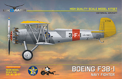 Lukgraph 1/32 Boeing F3B-1 Resin Kit (Multi Media kit) - LUK32-07