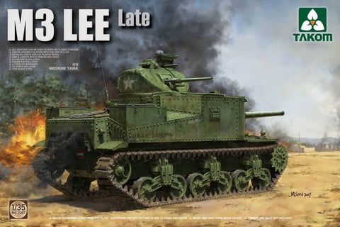 TAKOM 1/35 US Medium Tank M3 LEE - Late