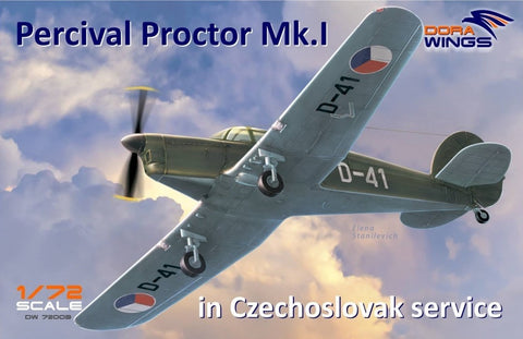 DORA WINGS  1/72  Percival Proctor  Mk.I